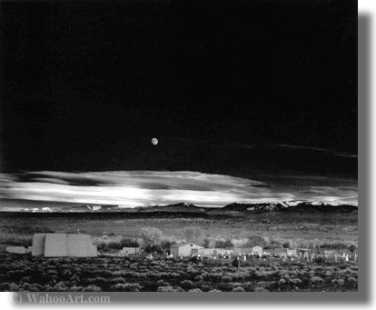 Untitled (238) by Ansel Adams (1902-1984, United States)