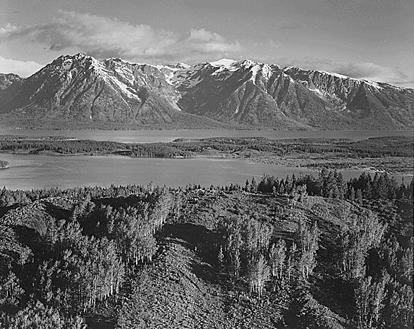 Untitled (813) by Ansel Adams (1902-1984, United States) | ArtsDot.com