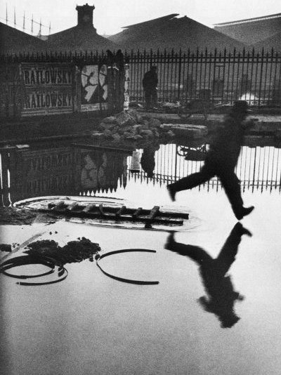 Saint Lazare 1932 by Henri Cartier-Bresson  (order Fine Art Poster on canvas Henri Cartier-Bresson)