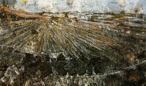 Anselm Kiefer - Nigredo, (290 Kb)_ Oil, acryli..