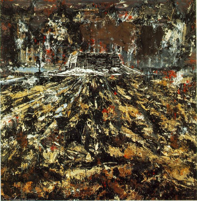 Untitled (210) by Anselm Kiefer