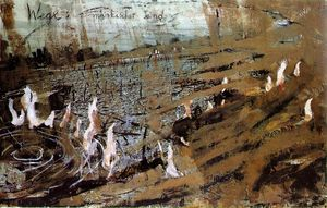 Anselm Kiefer - March sand