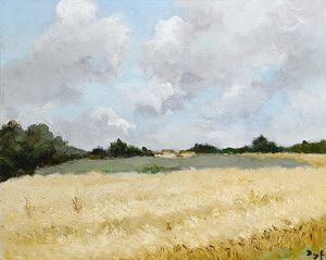 Marcel Dyf - Green field