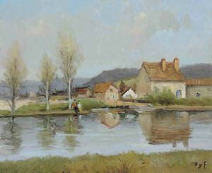 Marcel Dyf - Slow water, (1980)