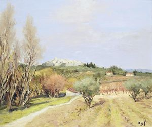 Marcel Dyf - The Plain of St. Paul