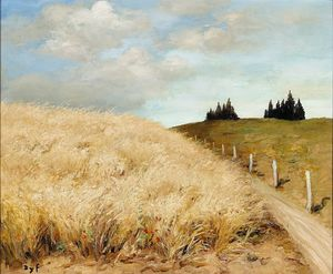 Marcel Dyf - Wheat field