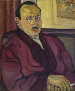 Reuven Rubin - Portrait of Mr. Isidore H..