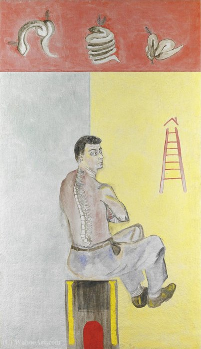Untitled (605) by Francesco Clemente