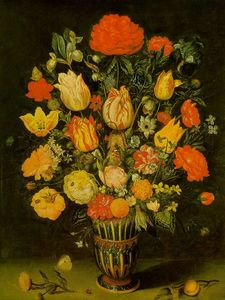 Dubois Ambroise (Ambrosiu.. - Still-Life of Flowers