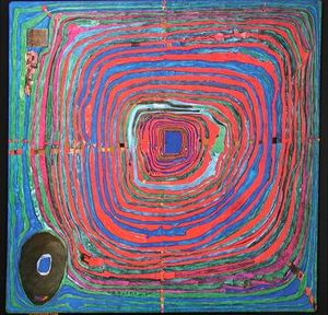 Friedensreich Hundertwasser - The big way
