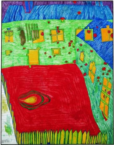 Jew-s House in Austria by Friedensreich Hundertwasser