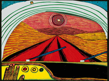 The Way to You by Friedensreich Hundertwasser