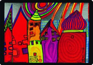 Friedensreich Hundertwasser - A Waiting Houses