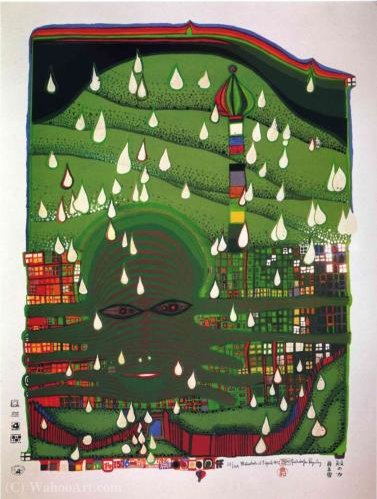 Green power by Friedensreich Hundertwasser