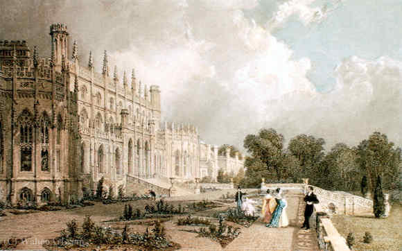 Eaton hall by Thomas Allom (1804-1872, United Kingdom)