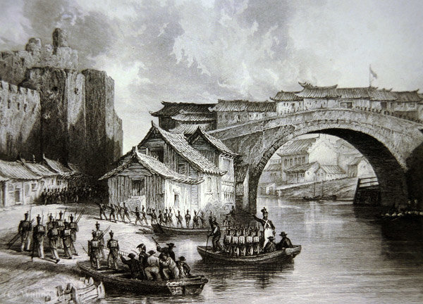 West Gate of Ching by Thomas Allom (1804-1872, United Kingdom)