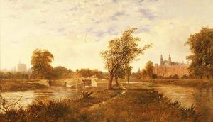 Edward H. Niemann - Eton from the Thames