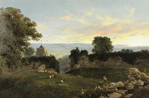 Edward H. Niemann - From pevensey castle look..