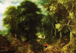 Abraham Govaerts - The eternal forest