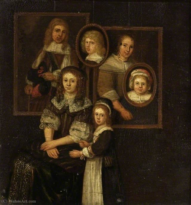 Family group by Abraham Willaerts (1613-1669, Netherlands) | Painting Copy | ArtsDot.com