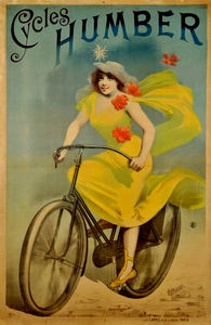 Alfred Choubrac - Advertising poster of Cyc..