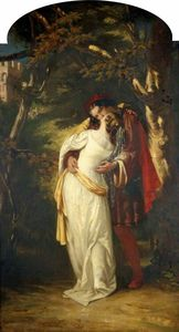 Alfred Elmore - Romeo and Juliet
