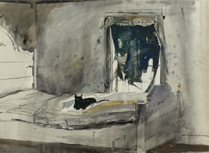 Andrew Wyeth - Christina-s bedroom