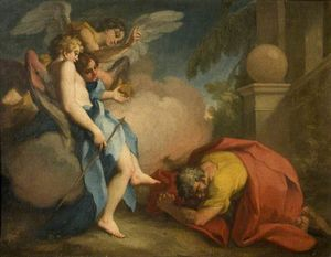 Antonio Balestra - Abraham Visited by the Th..