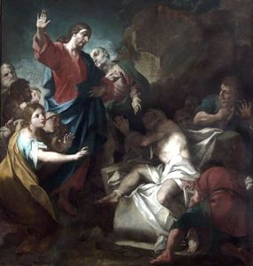 Antonio Balestra - The Raising of Lazarus