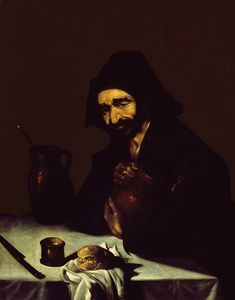 Antonio De Puga - The drinker or a peasant