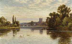 Arthur Augustus Ii Glende.. - Henley on the Thames