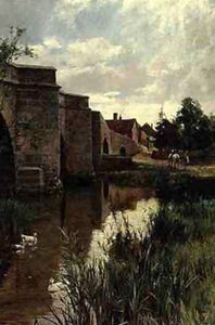 Arthur Augustus Ii Glende.. - The bridge