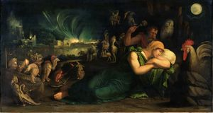 Battista Dossi - The night