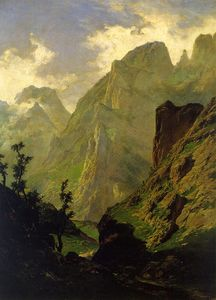 Carlos De Haes - The peaks of Europe