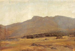Carlos De Haes - Valley in the Guadarrama ..