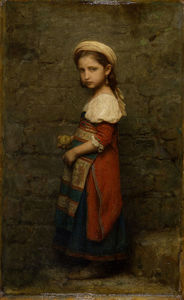 Charles François Jalabert - talian Girl (after (1862))