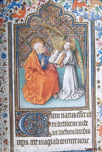 Hours in Rome say use Morgan Hours by Enguerrand Charonton (1412-1466, France) | Museum Art Reproductions | ArtsDot.com