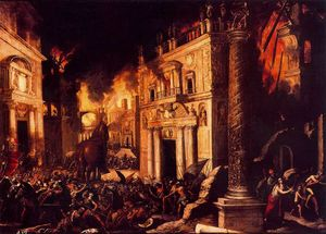 Francisco Collantes - Trojan fire