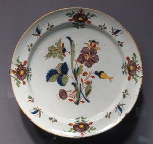Frederik Van Frytom - 18th century Dutch dish