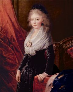 Friedrich Heinrich Füger - Portrait of Marie Thérèse of F..