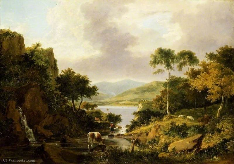 Loch etive, argyllshire by George Vincent (1796-1831, United Kingdom)