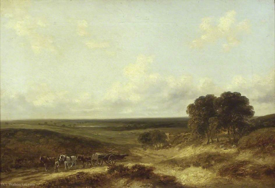 Mousehole heath, norfolk by George Vincent (1796-1831, United Kingdom)