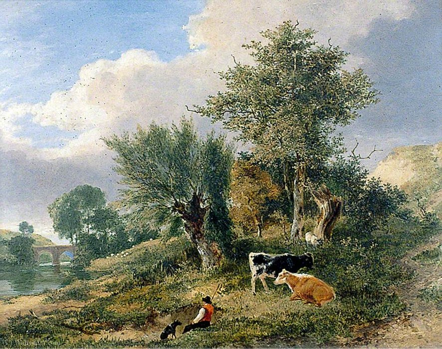 View near Norwich by George Vincent (1796-1831, United Kingdom)