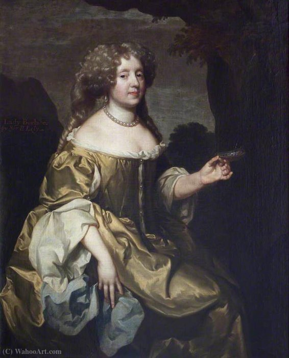 Alice bankes by Gerard Soest (1600-1681, Germany)