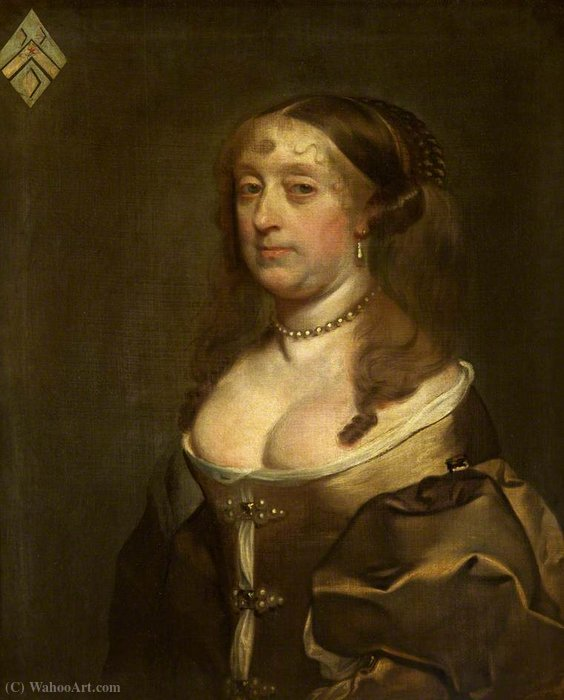 Portrait of an Unknown Lady by Gerard Soest (1600-1681, Germany)