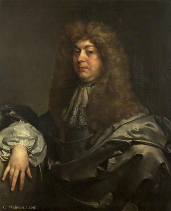Portrait of an Unknown Man by Gerard Soest (1600-1681, Germany)