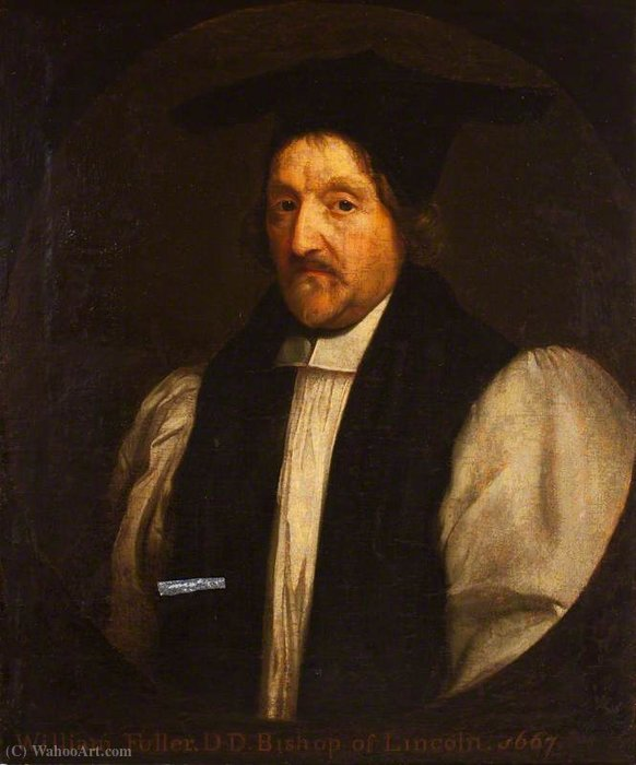 William Fuller, Bishop of Lincoln by Gerard Soest  (order Fine Art painting copy Gerard Soest)