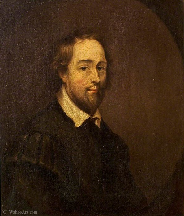 William shakespeare by Gerard Soest (1600-1681, Germany)