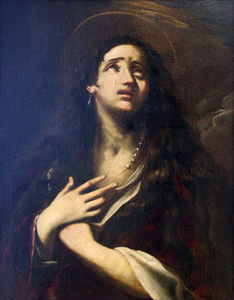 Giacinto Brandi - The penitent mary magdalene
