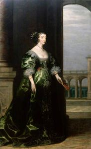 Hendrick Van The Younger .. - Henrietta maria